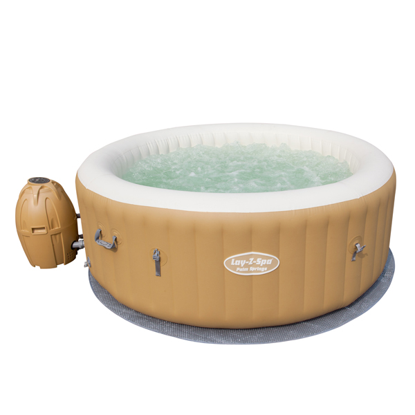 Bestway Lay Z Spa Palm Springs Airjet Inflatable Portable