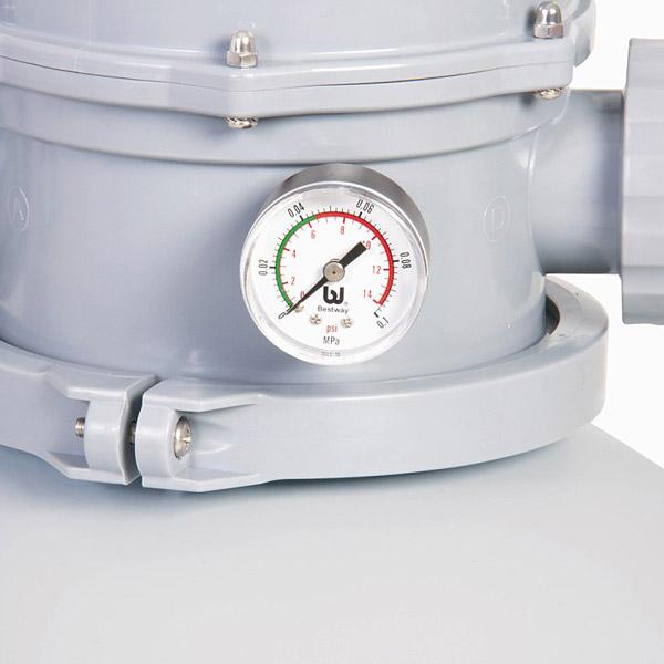 1500 Gph Bestway Flowclear Sand Filter Pump 58404 For