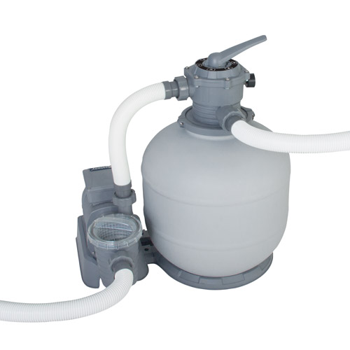 2000 gph bestway flowclear sand filter pump 58366 for for Best above ground pool pump