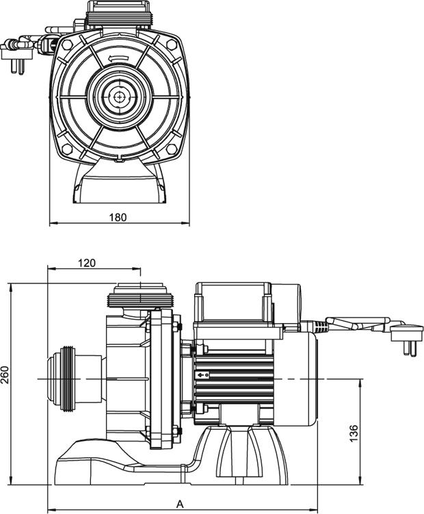Onga Leisuretime Ltp550s 0 75 Hp Pool Solar Heating Pump